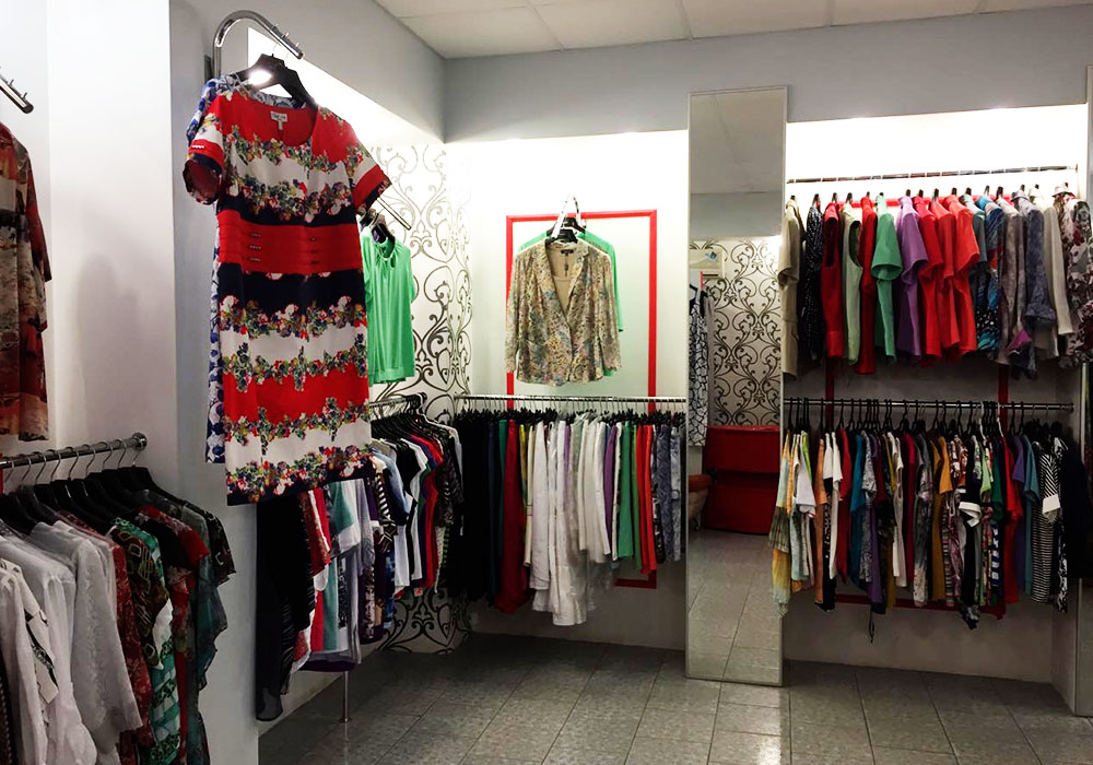 Торговый Центр Женская Одежда